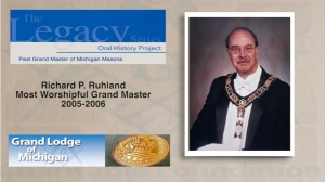 Richard P. Ruhland%0AMost Worshipful Grand Master 2005-2006